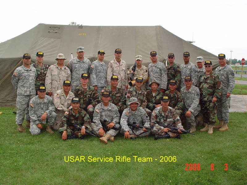 Camp Perry 2006 - USAR Service Rifle Team