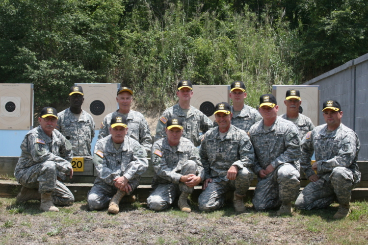 USAR Service Pistol Team at 2008 Interservice Pistol Championships.