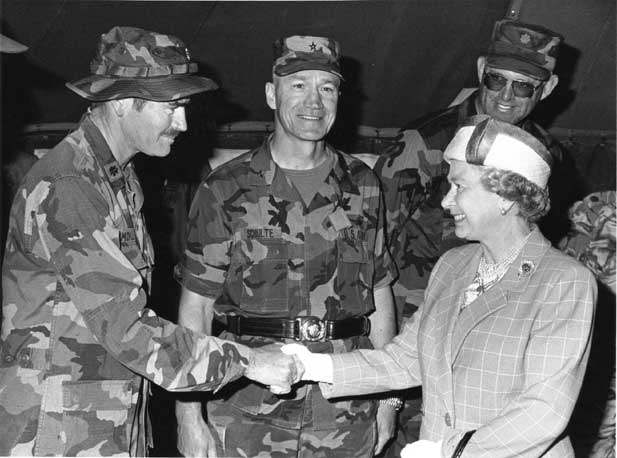 Elizabeth ii Shooting With Queen Elizabeth ii